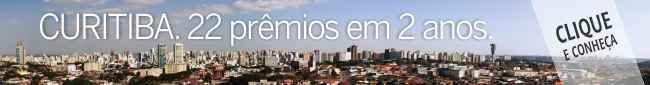 Banner prêmio Curitiba