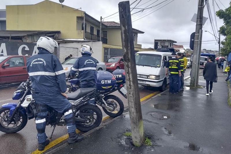 Operação da Prefeitura coíbe o transporte escolar clandestino. Foto: Divulgação