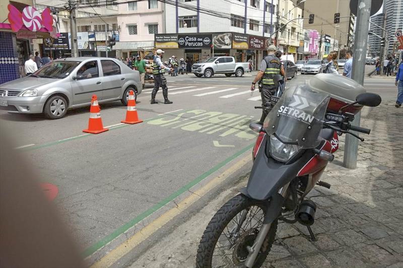 Motorista sem cinto é a principal situação flagrada por guardas no trânsito. foto: Divulgação/Setran