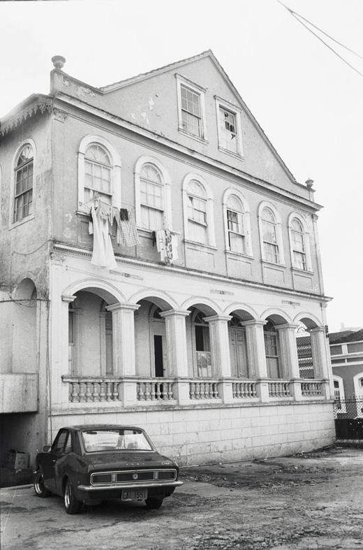 Solar dos Guimarães, em 1981.