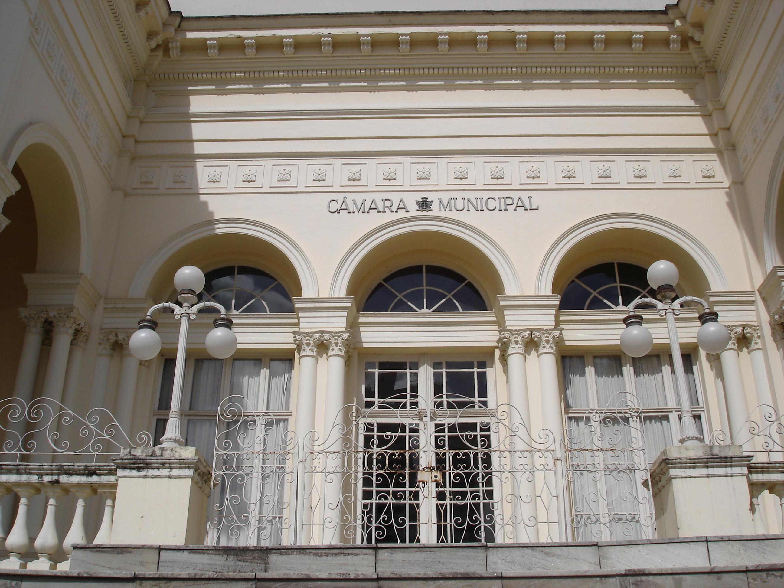 Palácio Rio Branco, detalhe da entrada principal, em 2007.