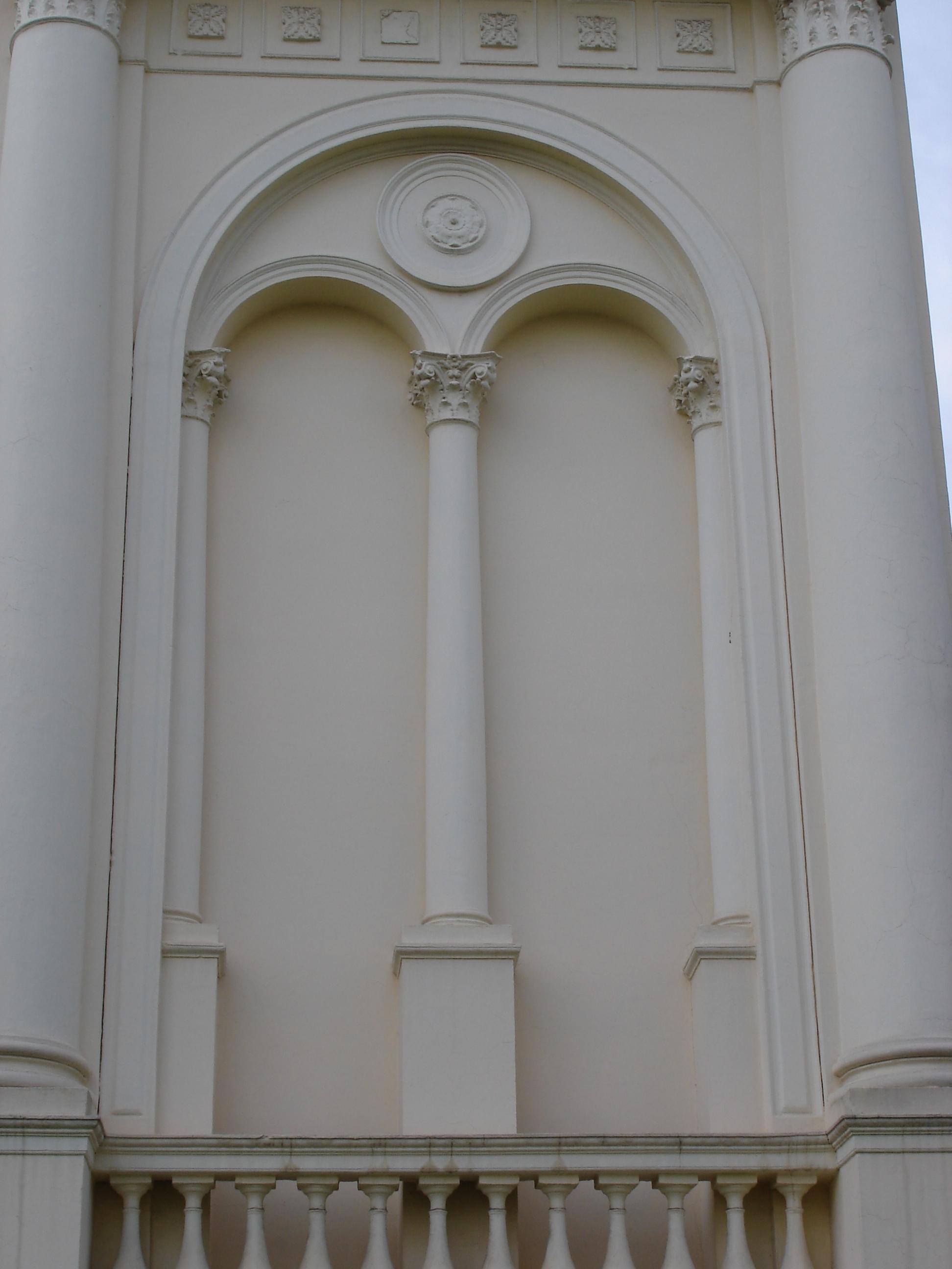 Palácio Rio Branco, detalhe de fachada, em 2007.