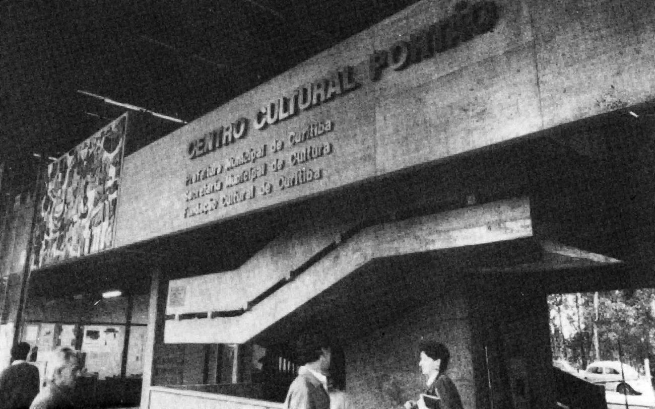 Centro Cultural do Portão, em 1988.