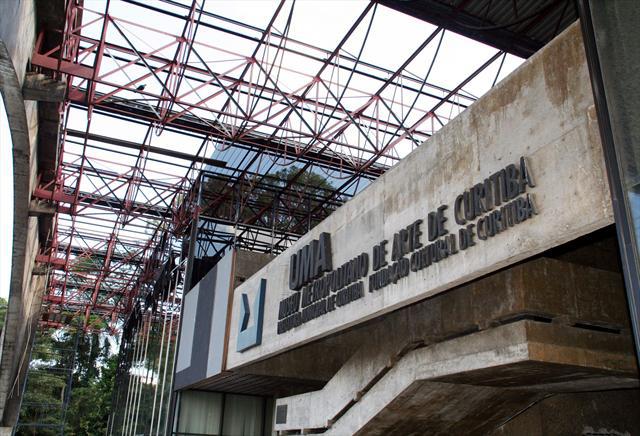 O MuMA (Museu Municipal de Arte de Curitiba) no complexo Portão Cultural, em 2012.