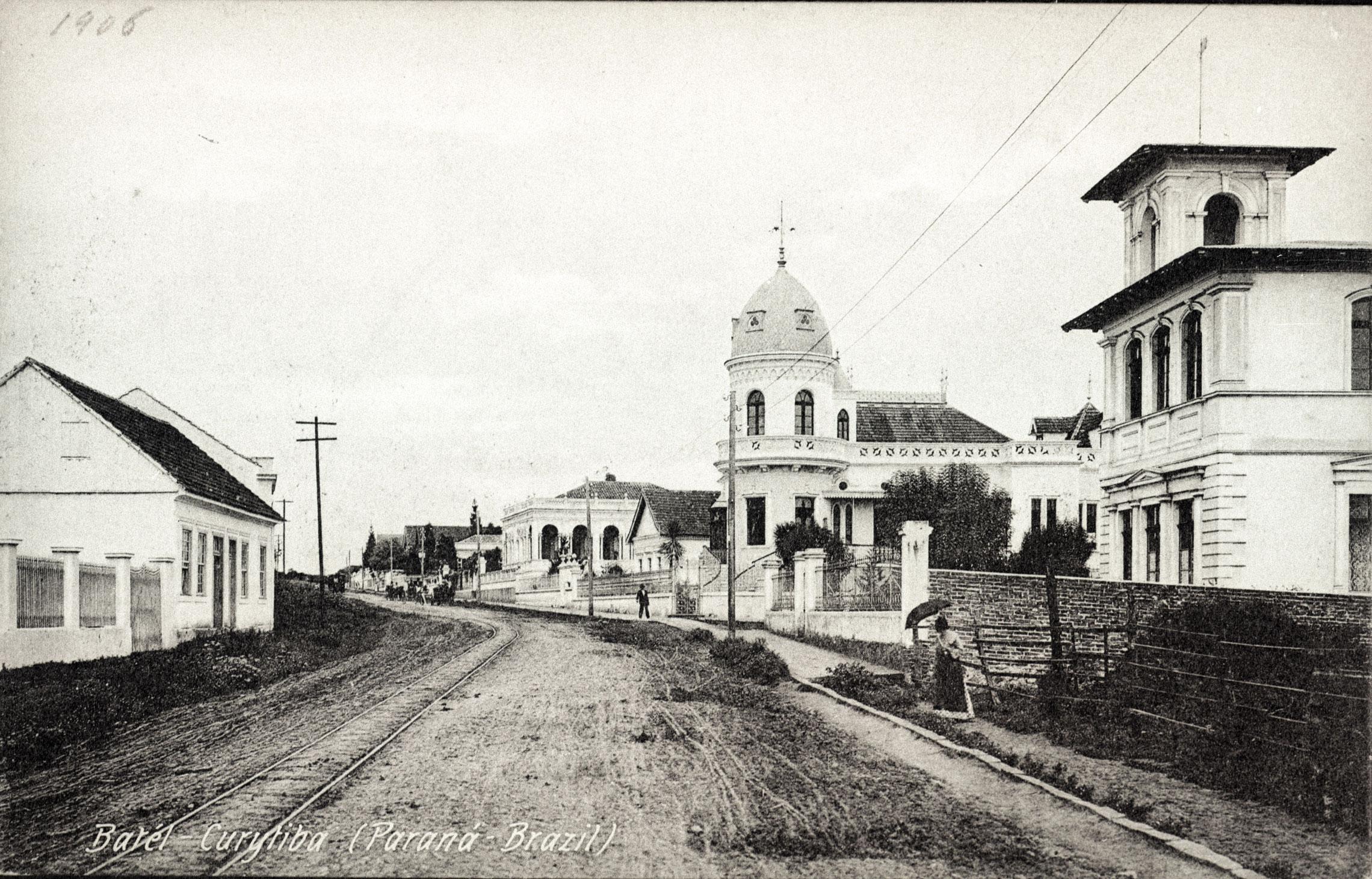 Rua Comendador Araújo, em 1906.