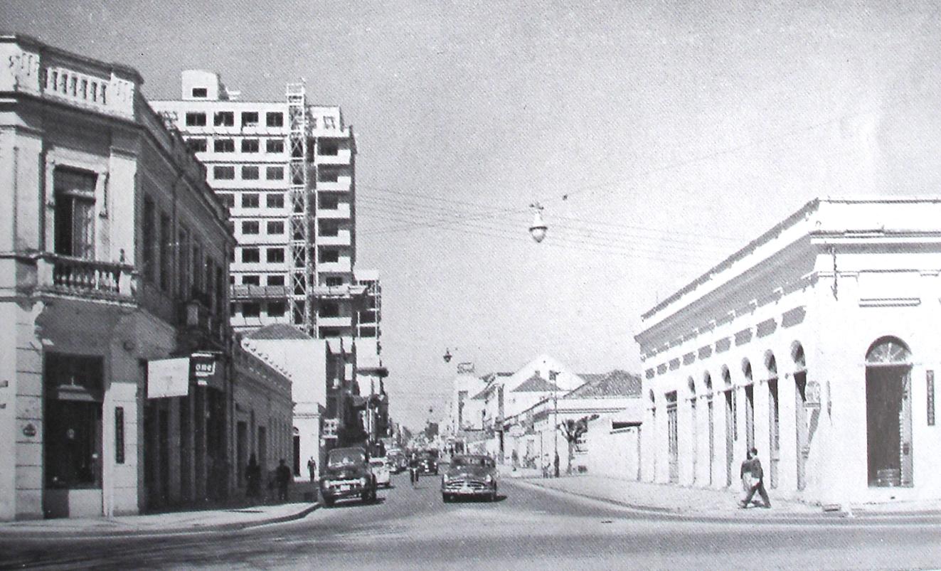 Rua Comendador Araújo, em 1952.