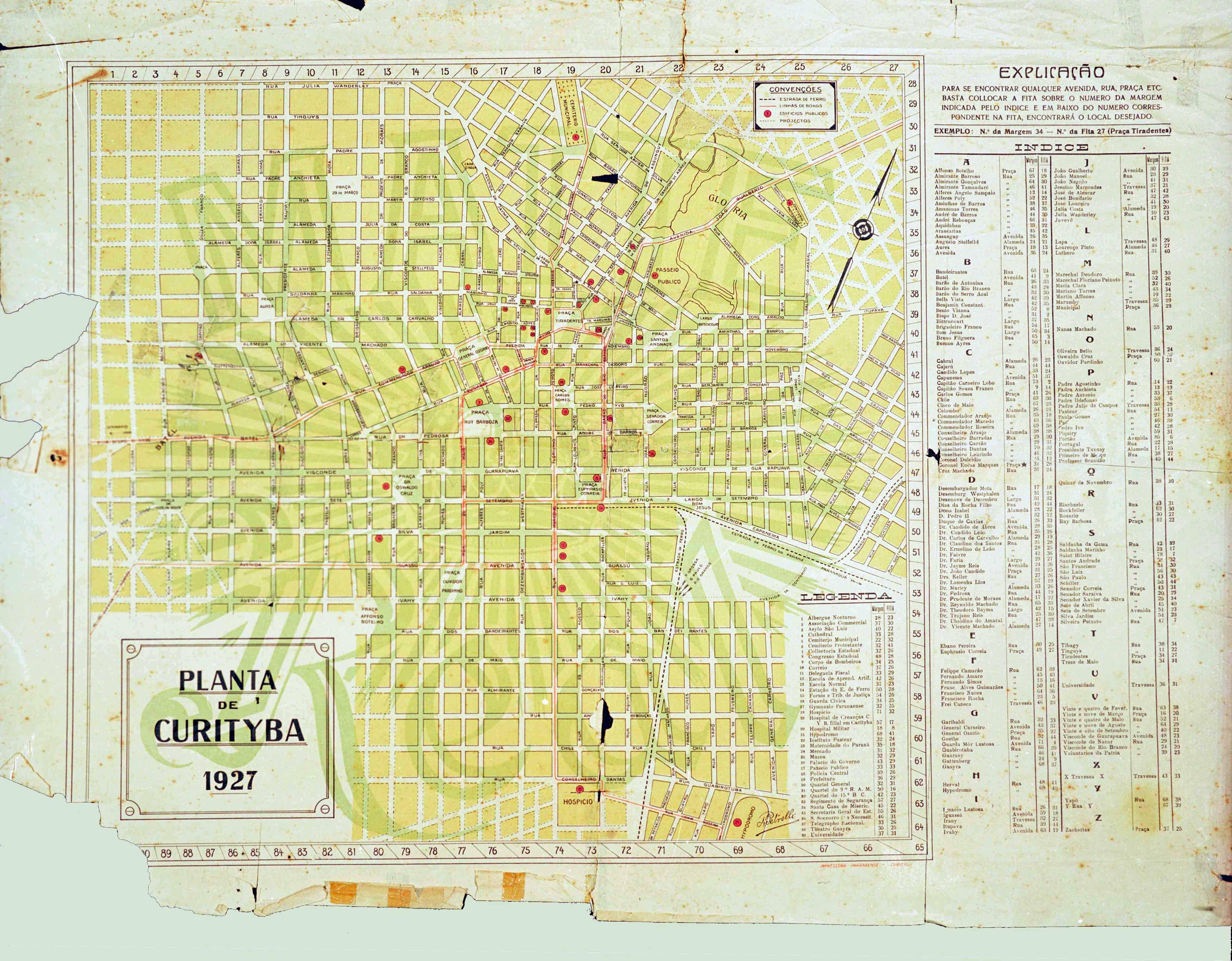 Curitiba em 1927